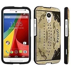 DuroCase ? Motorola Moto G 2nd Gen. 2014 Hard Case Black - (Ouija Board)