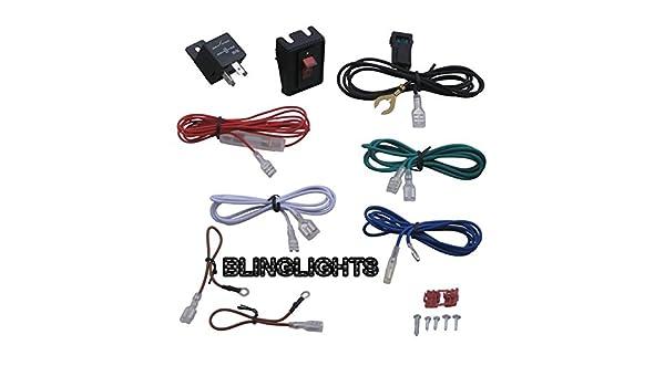 [DHAV_9290]  Amazon.com: 100+ Watt Off Road Lamp Wiring Harness with Illuminated Rocker  Switch: Automotive   Optronics 40 Amp 4 Pin Relay Wiring Diagram      Amazon.com