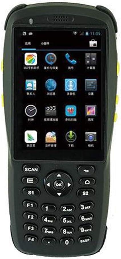 Warehouse handheld Wireless escáner de código de barras con Android 5,1 OS, 2D escáner infrarrojo, NFC lector, pantalla táctil, teclado numérico ...