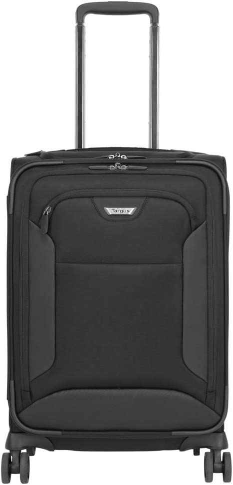 Targus Corporate Traveler 4-Wheeled Roller Bag for 15.6-Inch Laptop Compartment, Black (CUCT04R)