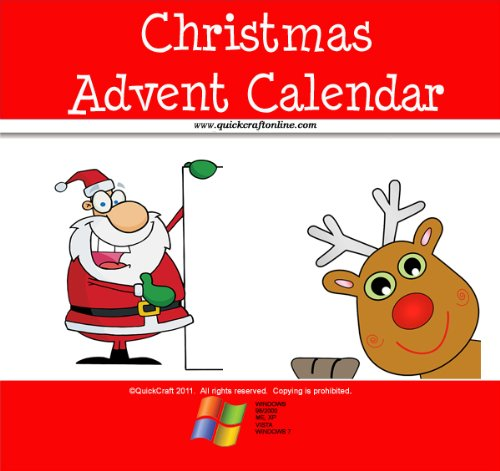 Advent Christmas Crafts (Christmas Craft Advent Calendar Kids (QuickCraft))
