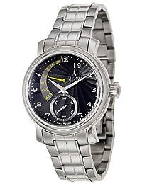 Accutron by Bulova Amerigo Stainless Steel Mens Watch Retrograde Calendar 63C103