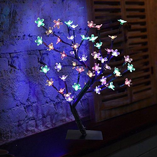 Buy Atnep Metal 24 Led Tree Home Lighting14x5 Inch Multicolour