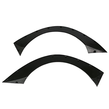 """Universal 40.5/""""x17.5/"""" Ikon RB Style Fender Flares 2 Piece Flexible Durable PU"""