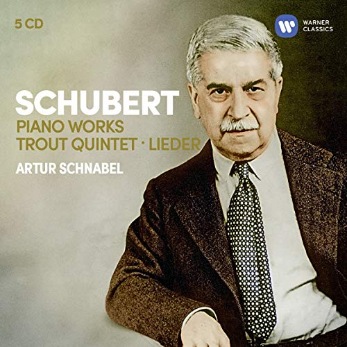 Schubert: 3 Sonatas, Impromptus, Moments Musicaux, Trout Quintet, 7 Lieder... (5CD)