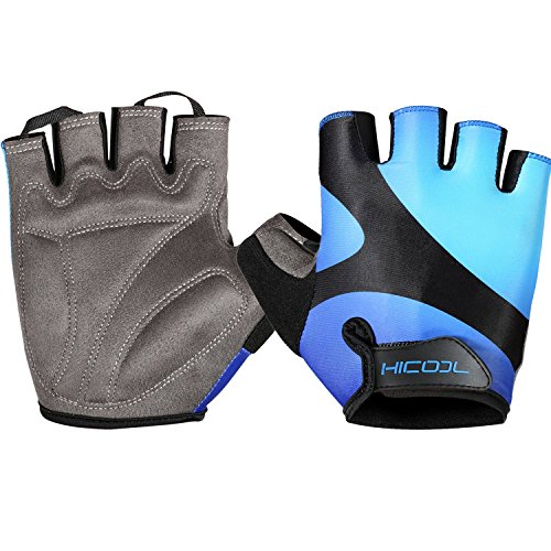 HiCool-Cycling-Gloves-Breathable-Half-Finger-Bicycle-Gloves-for-Weightlifting-Cycling-Bodybuilding-And-More-Women-and-Men-Sporting-Gloves