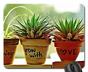 All things grow with love... Mouse Pad, Mousepad (Flowers Mouse Pad)