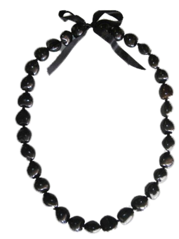Amazon hawaiian black kukui nut 32 lei clothing buycottarizona Gallery