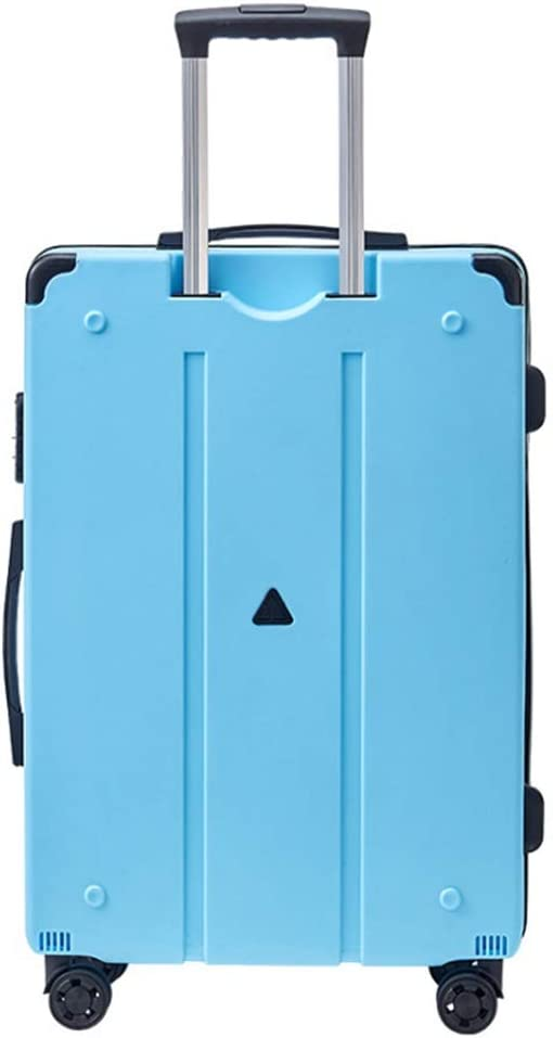 Color : White Runtongshanghang New Trolley Case Gift Suitcase Male and Female Password Universal Wheel Suitcase