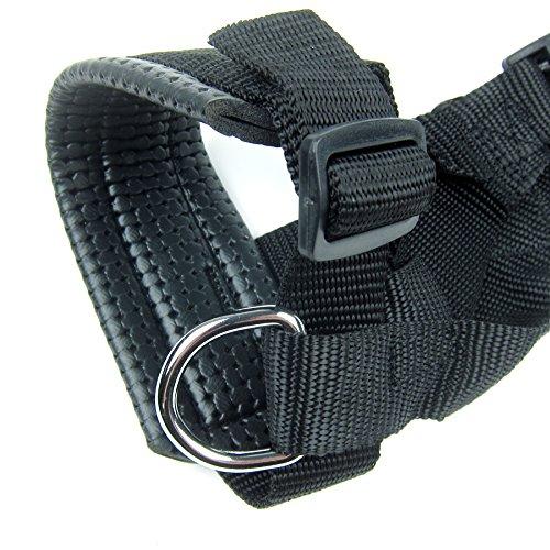 Alfie Pet by Petoga Couture - Jaimy Adjustable Quick Fit Nylon Muzzle - Color: Black, Size: XXL by Alfie (Image #4)
