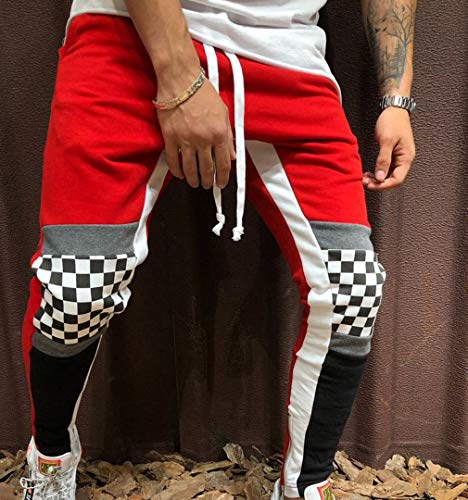 Uomo Mikely b Red Pantaloni Store qAPf6A
