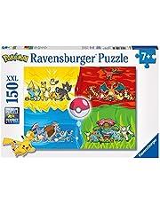 Ravensburger 100354 Verschillende Pokémons Puzzel - Legpuzzel - 150 Stukjes