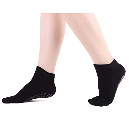 Calcetines de yoga Algodón Antideslizante Señoras ...