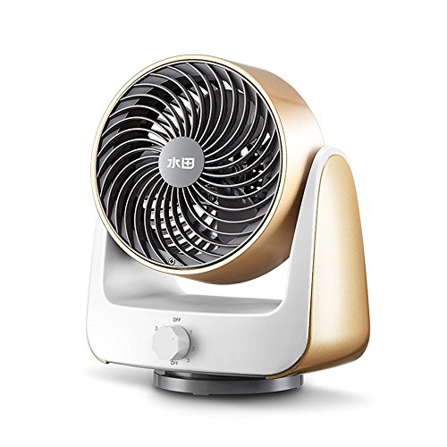 Fan CAICOLOR 6 Inches Third Gear Adjustment/Air Circulation Desktop Automatically Oscillating Three-dimensional by Fan