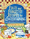 Fix-It and Forget-It Recipes for Entertaining, Phyllis Pellman Good and Dawn J. Ranck, 156148377X