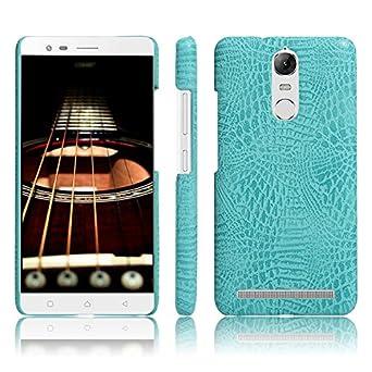 Amazon.com: Lenovo K5 Note Caso, lujo clásico patrón de piel ...