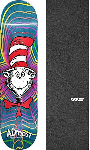 Almost Skateboards Zoom Cat Skateboard Deck Resin-7-8.37