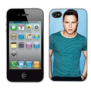 Coque rigide de protection Motif Olly Murs pour Apple iPhone 4/4S