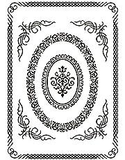 Cheery Lynn Designs IOEEF01 Frame it Embossing Folder