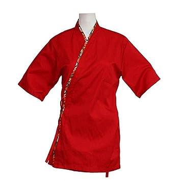 Ropa de trabajo japonesa Chaqueta de cocinero Kimono Sushi Restaurant Bar Hospitality Uniforms, # 11