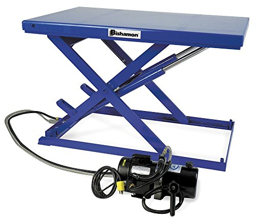 Bishamon-LX-25L-Lo-Profile-LX-Series-Scissor-Lift-Tables-550-lb-Capacity-290-Height