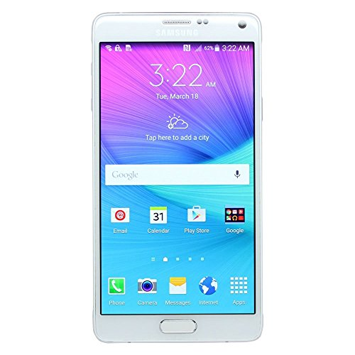 Samsung Galaxy Note 4 N910T 32GB 4G LTE T-Mobile GSM Unlocked Smartphone White (Certified Refurbished) (Samsung T Mobile Cell Phones)