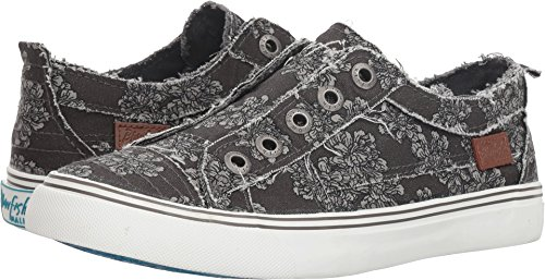 Fashion Women's Play Blowfish Sneaker Grey Print Nightfall Dark q14wEfwnU
