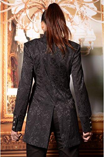 Pour Aristocrate Brocard Pentagramme Noir Victorien Gothique Veste Femme ZW4qnfwqUY