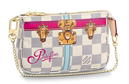 - PORTOFINO WRISTLET MINI POCHETTE ACCESSORIES Louis Vuitton Summer Trunk Bag Pouch Clutch LTD