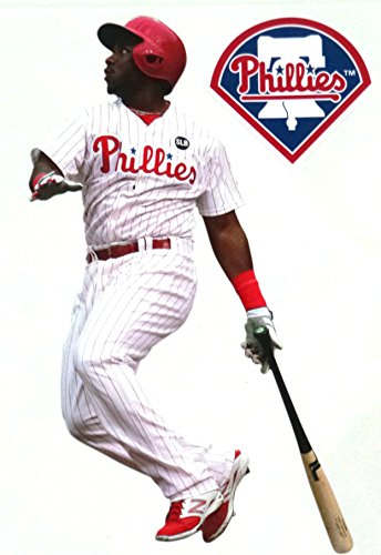 FATHEAD Maikel Franco Philadelphia Phillies Logo Official MLB Vinyl Wall Graphics 7