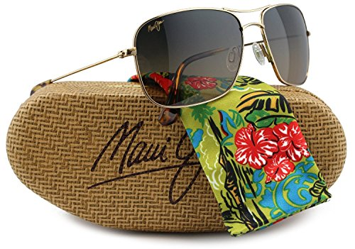 Maui Jim MJ-246-16 Wiki Wiki Sunglasses Gold w/ HCL Bronze HS246-16 59mm Authentic + Maui Jim - The Aviator Wiki