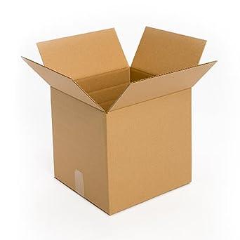 "PRATT pra0065 100% reciclado cartón corrugado caja, 12 ""X 12"" ..."