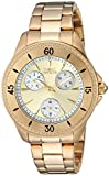 Invicta Women's 'Angel' Quartz Gold-Tone and Stainless Steel Casual Watch, Color:Gold (Model: 22969)