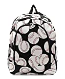 Children's School Backpack (Baseball Black)