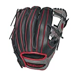 Wilson WTA12RB161786R 6-4-3 1786 Red Pedroia Fit 11.5-Inch Baseball Glove