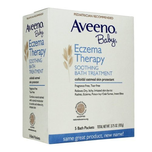 Baby / Child Aveeno Baby Eczema Therapy Soothing Baby Bath Treatment, Fragrance Free, 5-Count Pack Of 2 Infant, Baby & Kids Zone