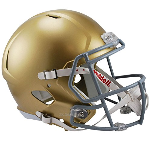 (Riddell Notre Dame Fighting Irish Officially Licensed NCAA Speed Full Size Replica Football Helmet)