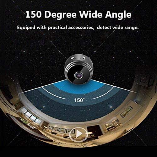 // Pc Negro Summerwindy A9 1080P C/ámara Inal/ámbrica Remota C/ámara Sistema De Seguridad Detecci/ón De Movimiento WiFi para//Android Phone