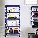 Topeakmart Garage Storage Racks, 5-Tier Adjustable