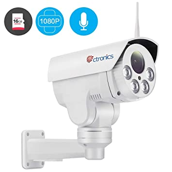 camera de surveillance zoom automatique