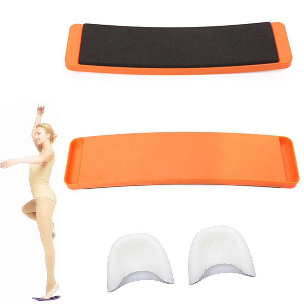 Blueprint PX Ballet Turn Board for Pirouette Dance Moves for Ballet and Gymnastic Dancers, Premium Ballet Equipment include Silicone Toe Protectors, Improve Turning and Balance Puxian