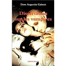 Dissertation sur les vampires