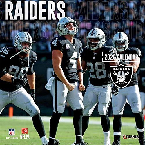 Raiders: 2020 12x12 Team Wall Calendar (Raiders Calendar)