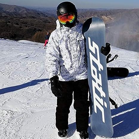 Radiancy Inc Ski Suit New Thicken Warm Ski Suit Men Women Winter Windproof Waterproof Skiing Gloves Snowboard Jacket Pants Suit Male Plus Size Gift Color : Color 13, Size : XXL