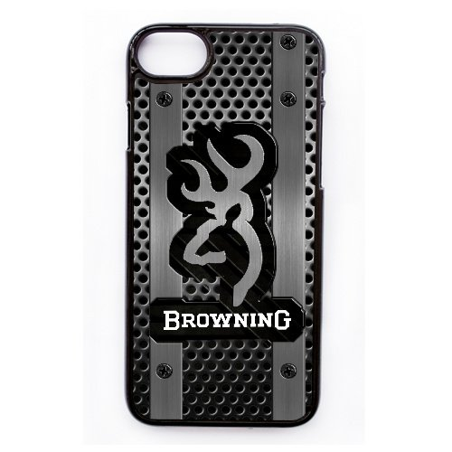 Coque,Apple Coque iphone 7 (4.7 pouce) Case Coque, Generic Browning Logo Cover Case Cover for Coque iphone 7 (4.7 pouce) Noir Hard Plastic Phone Case Cover
