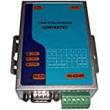 TCP/IP Ethernet RJ45 to Serial RS232 RS485 RS422 Max.921.6Kbps Serial Interface Converter Adapter Adaptor