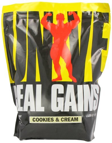Universal Nutrition Real Gains, Cookies & Cream, 6.85-Pounds by Universal Nutrition
