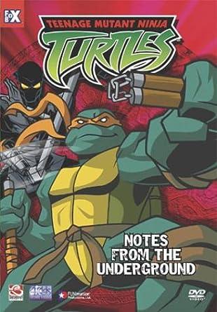 Teenage Mutant Ninja Turtles 5: Notes From Under USA DVD ...