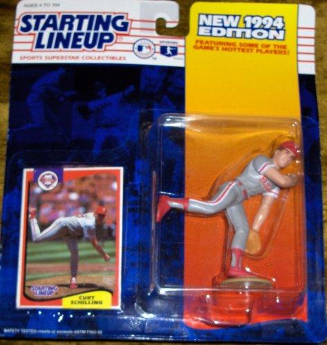 Curt Schilling 1994 Starting Lineup Curt Schilling Phillies