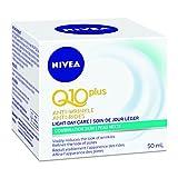 NIVEA Q10plus Anti-Wrinkle Light Day Care for Combination Skin, 50mL jar